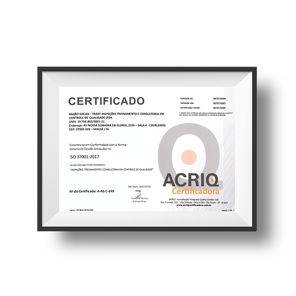 ISO 37001:2017